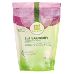 GrabGreen: 3-in-1 Laundry Detergent Pods - Lavender with Vanilla (24 Ct)