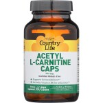 Country Life: Acetyl L-Carnitine Caps (500 mg 60 Veg Caps)