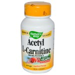 Nature's Way: Acetyl L-Carnitine (500 mg 60 Vcaps)