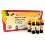 Prince of Peace: American Ginseng w/ Royal Jelly & Bee Pollen (10 Ct)