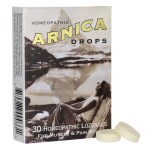 Historical Remedies: Arnica Drops (30 Lozenges)