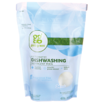 GrabGreen: Automatic Dishwashing Detergent Pods - Fragrance Free (24 Ct)
