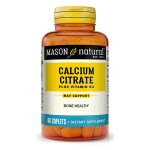 Mason Natural: Calcium Citrate with Vitamin D3 (60 Cplts)