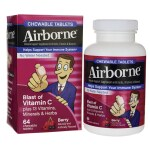 Airborne: Chewable Tablets - Berry (64 Chwbls)