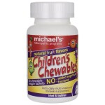 Michael's Naturopathic Programs: Children's Chewables Multi Vitamin & Mineral - Natural Fruit (60 Chwbls)