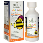 Zarbee's: Children's Nighttime Cough Syrup with Dark Honey - Grape (4 fl oz Liquid)