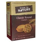 Back To Nature: Classic Round Crackers (8.5 oz Box)