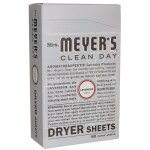 Mrs. Meyer's: Clean Day Dryer Sheets - Lavender (80 Ct)