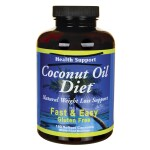 Health Support: Coconut Oil Diet (180 Sgels)