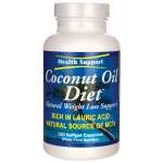 Health Support: Coconut Oil Diet (120 Sgels)