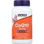 NOW Foods: CoQ10 (30 mg 60 Veg Caps)