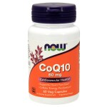 NOW Foods: CoQ10 (60 mg 60 Veg Caps)