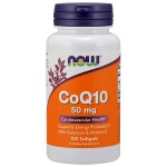 NOW Foods: CoQ10 (50 mg 100 Sgels)