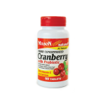 Mason Natural: Cranberry with Probiotic (60 Tabs)