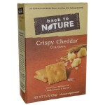 Back To Nature: Crispy Cheddar Crackers (7.5 oz Box)