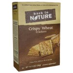 Back To Nature: Crispy Wheat Crackers (8 oz Box)
