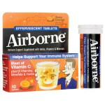 Airborne: Effervescent Orange (10 Tabs)