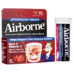 Airborne: Effervescent Very Berry (10 Tabs)