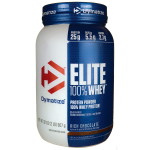 Dymatize Nutrition: Elite 100% Whey Protein - Rich Chocolate (2 lbs Pwdr)