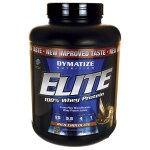 Dymatize Nutrition: Elite 100% Whey Protein - Rich Chocolate (5 lbs Pwdr)