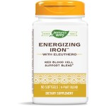 Enzymatic Therapy: Energizing Iron with Eleuthero (90 Sgels)