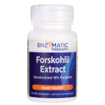 Enzymatic Therapy: Forskohlii Extract (50 mg 60 Veg Caps)