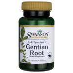 Swanson Health Products: Full Spectrum Gentian Root (400 mg 60 Caps)