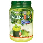 Olympian Labs: Greens Protein 8 in 1 - Blueberry Flavor (25.75 oz Pwdr)