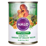 Halo, Purely For Pets: Holistic Garden of Vegan Recipe for Adult Dog (13 oz Can)