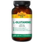 Country Life: L-Glutamine (1,000 mg 60 Tabs)