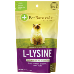 Pet Naturals: L-Lysine for Cats - Chicken Liver Flavored (60 Chews)