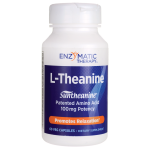 Enzymatic Therapy: L-Theanine (100 mg 60 Veg Caps)