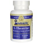 Nutralife Health Products: L-Theanine (200 mg 60 Veg Caps)