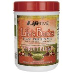 Lifetime Vitamins: Life's Basics Plant Protein Mix with 5-Fruit Blend (20.69 oz Pwdr)