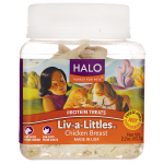 Halo, Purely For Pets: Liv-a-Littles Protein Treats - Chicken Breast (2.2 oz Pkg)