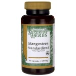 Swanson Health Products: Mangosteen Standardized (500 mg 90 Caps)