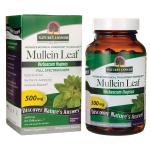 Nature's Answer: Mullein Leaf (500 mg 90 Veg Caps)