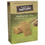 Back To Nature: Multigrain Flax Seeded Flatbread Crackers (5.5 oz Box)
