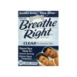 Breathe Right: Nasal Strips Clear - Large (30 Ct)