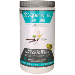Designer Whey: Natural 100% Whey-Based Protein - French Vanilla (2 lbs Pwdr)