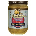 Once Again: Natural American Classic Creamy Almond Butter (16 oz Jar)