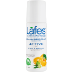 Lafe's: Natural and Organic Roll On Deodorant - Active (3 oz Liquid)