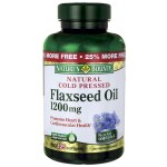 Nature's Bounty: Natural Cold Pressed Flaxseed Oil (1,200 mg 125 Sgels)