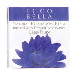 Ecco Bella: Natural Eyeshadow Refill Infused with FlowerColor  - Taupe (0.12 oz Unit)