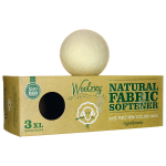 Woolzies: Natural Fabric Softener - Wool Dryer Balls (3 Ct)