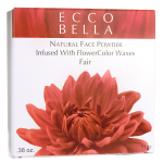 Ecco Bella: Natural Face Powder Infused with FlowerColor Waxes - Fair (0.38 oz Unit)