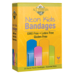 All Terrain: Neon Kids Bandages - Assorted Sizes (20 Ct)