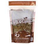 Love Grown Foods: Oat Clusters Toasted Granola - Cocoa Goodness (12 oz Pkg)