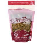 Love Grown Foods: Oat Clusters Toasted Granola - Sweet Cranberry Pecan (12 oz Pkg)