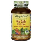 MegaFood: One Daily Iron Free (90 Tabs)